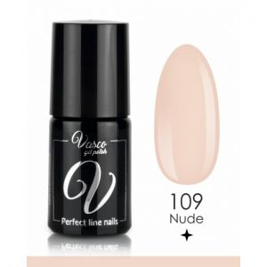 Lakier hybrydowy. VASCO FOR FRENCH 6 ml - 109 Nude